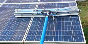 Reinigung von Solarparks Solaranlagenreinigung