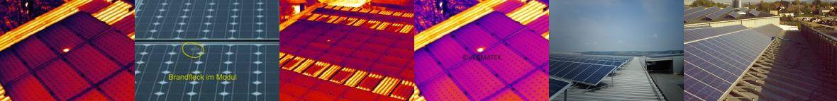 Wärmebildkontrolle nach Solarreinigung